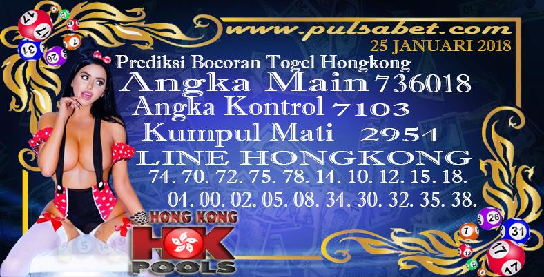 Prediksi Togel Jitu Hongkong Jumat 25 Januari 2019