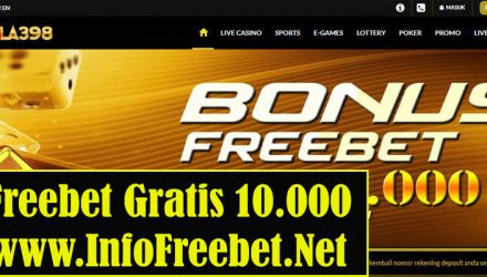 Freebet Bola389 Senilai 10.000