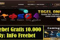 Freebet Gratis PlatinumTogel Senilai 10.000