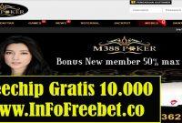 Freechip Gratis M388poker Senilai 10.000