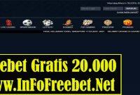 Freebet Gratis AsiaBettor Senilai 20.000