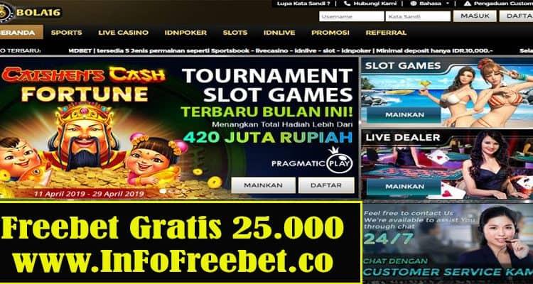 Freebet Gratis Bola168 Senilai 25.000