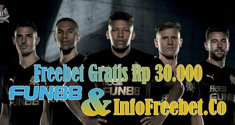 Freebet Gratis Fun88 Senilai 30.000