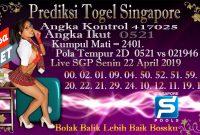 Prediksi Togel Jitu Singapore Senin 22 April 2019