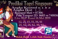 Prediksi Togel Jitu Singapore Kamis 16 Mei 2019