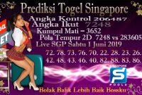 Prediksi Togel Jitu Singapore Sabtu 1 Juni 2019